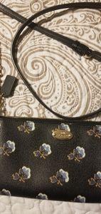 Coach Bags - Coach mini crossbody bag black